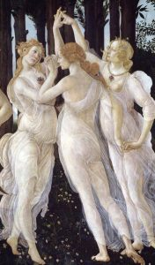 Boticelli three graces